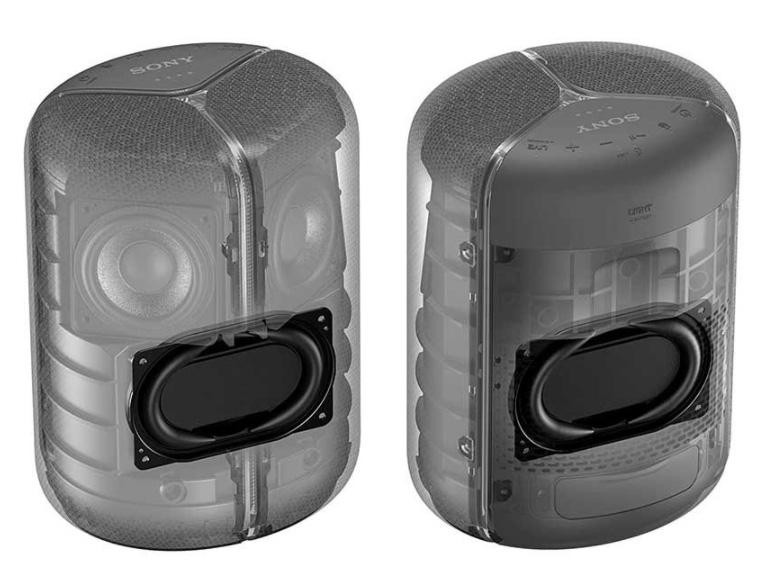 XB402M EXTRA BASS™ Amazon Alexa Built-in BLUETOOTH® Speaker